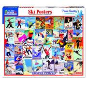 White Mountain White Mountain Ski Posters Puzzle 1000pcs
