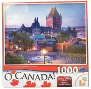Lafayette O' Canada Chateau Frontenac at Dawn, Quebec Puzzle 1000pcs