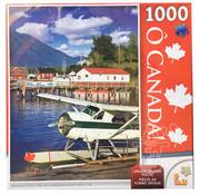Lafayette O' Canada Seaplane at Dock in Torfino, BC Puzzle 1000pcs