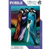 Canadian Art Prints Indigenous Collection: Three Sisters Puzzle 1000pcs