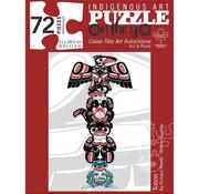 Canadian Art Prints Indigenous Collection: Totem Puzzle 72pcs