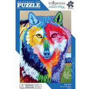 Canadian Art Prints Indigenous Collection: Big Wolf Puzzle 1000pcs,