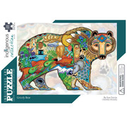 Canadian Art Prints Indigenous Collection: Grizzly Bear Puzzle 1000pcs