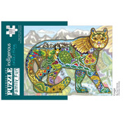 Canadian Art Prints Indigenous Collection: Cougar Family Puzzle 500pcs