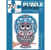 Canadian Art Prints Indigenous Collection: Owl Puzzle 72pcs.