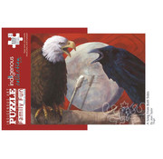 Canadian Art Prints Indigenous Collection: A Song from Both Sides Family Puzzle 500pcs