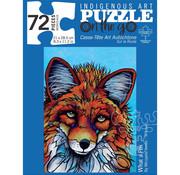 Canadian Art Prints Indigenous Collection: What a Fox Puzzle 72pcs