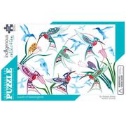 Canadian Art Prints Indigenous Collection: Garden of Hummingbirds Puzzle 1000pcs