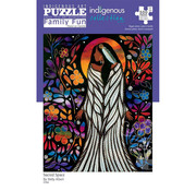 Canadian Art Prints Indigenous Collection: Sacred Space Family Puzzle 500pcs