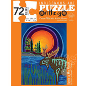 Canadian Art Prints Indigenous Collection: Spirit of the Mooz Puzzle 72pcs.