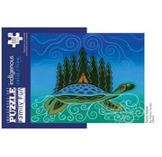 Canadian Art Prints Indigenous Collection: Turtle Island Family Puzzle 500pcs