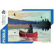 Canadian Art Prints Indigenous Collection: Lone Canoe Puzzle 1000pcs