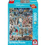 Schmidt Schmidt Hollywood Puzzle 3000pcs