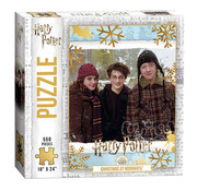 USAopoly USAopoly Harry Potter Cristmas at Hogwarts Puzzle 550pcs