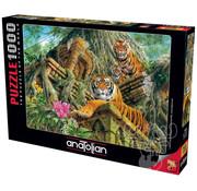 Anatolian Anatolian Temple Tigers Puzzle 1000pcs