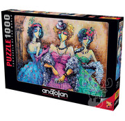 Anatolian Anatolian Ladies Party Puzzle 1000pcs