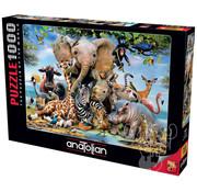 Anatolian Anatolian Africa Smile Puzzle 1000pcs