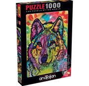Anatolian Anatolian The Stare Of The Wolf Puzzle 1000pcs