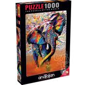 Anatolian Anatolian African Colours Puzzle 1000pcs