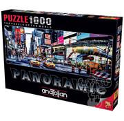 Anatolian Anatolian Times Square Panoramic Puzzle 1000pcs
