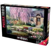 Anatolian Anatolian Cherry Blossom Cottage Puzzle 1000pcs