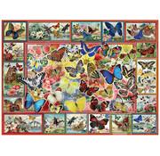 Anatolian Anatolian Lots Of Butterflies Puzzle 1000pcs