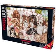 Anatolian Anatolian Puppies Puzzle 1000pcs