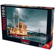 Anatolian Anatolian Ortakoy Mosque (Nostalgia) Puzzle 1000pcs