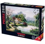 Anatolian Anatolian Arbor Cottage Puzzle 260pcs