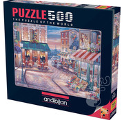 Anatolian Anatolian Cafe Randezvous Puzzle 500pcs