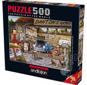 Anatolian Anatolian Dayton's Garage Puzzle 500pcs