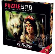 Anatolian Anatolian Warrior Princess Puzzle 500pcs