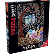 Anatolian Anatolian Three Owls Puzzle 500pcs