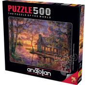 Anatolian Anatolian Hiding Place Puzzle 500pcs