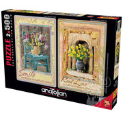 Anatolian Anatolian Smile - Real Love Puzzle 2 x 500pcs