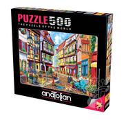 Anatolian Anatolian Cobblestone Alley Puzzle 500pcs