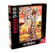 Anatolian Anatolian Giraffe Puzzle 500pcs