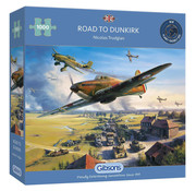 Gibsons Gibsons Road to Dunkirk Puzzle 1000pcs