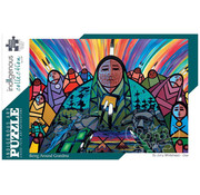 Canadian Art Prints Indigenous Collection: Being Around Grandma Puzzle 1000pcs