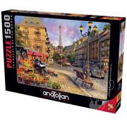 Anatolian Anatolian Paris Street Life Puzzle 1500pcs