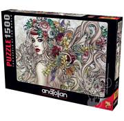 Anatolian Anatolian Flower Power Puzzle 1500pcs