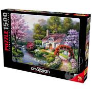 Anatolian Anatolian Spring Cottage In Full Bloom Puzzle 1500pcs
