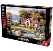 Anatolian Anatolian Stone Bridge Cottage Puzzle 1500pcs