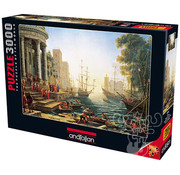 Anatolian Anatolian Seaport with the Embarkation of St. Ursula Puzzle 3000pcs