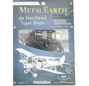 Metal Earth Metal Earth De Havilland DH-82 Tiger Moth Model Kit