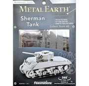 Metal Earth Metal Earth Sherman Tank Model Kit