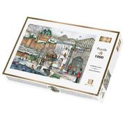 Trefl/Pierre Belvedere Trefl Quebec Carnival Puzzle 1000pcs