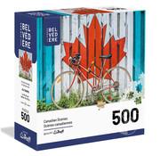 Trefl/Pierre Belvedere Trefl Cycling Canada Puzzle 500pcs