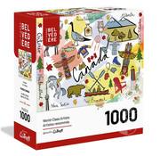 Trefl/Pierre Belvedere Trefl Canada Puzzle 1000pcs