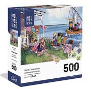 Trefl/Pierre Belvedere Trefl At The Cottage Puzzle 500pcs
